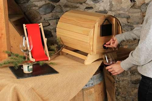 Image du produit Fût BIB Basile bois naturel verni  5/10l