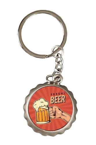 Image du produit Porte-clé décapsuleur Ivo métal- Fresh beer