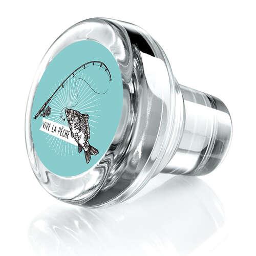 Image du produit Bouchon Vinolok cristal - Pêche/Vive la pêche