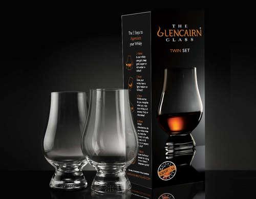 Image du produit Verre à whisky Patrick Twin  cristal 19cl Glencairn