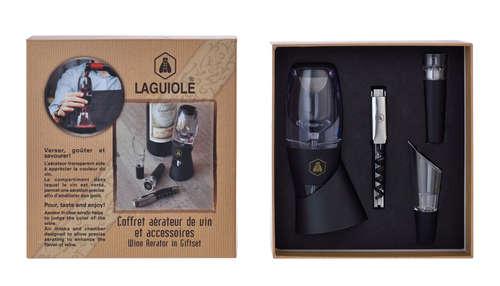 Image du produit Coffret Sonnac aérateur 4 accessoires Laguiole