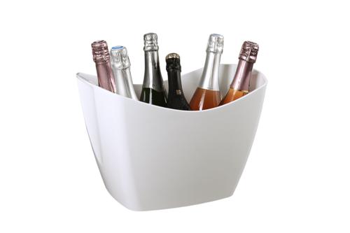 Image du produit Vasque Baltoro plastique blanc 4/6 bouteilles