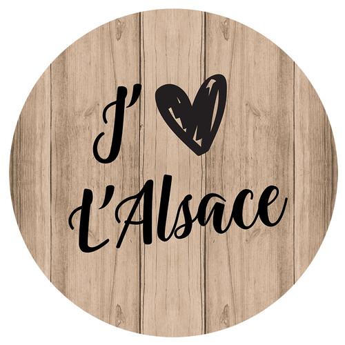 Image du produit Bouchon Vinolok cristal - Bois/J aime l Alsace