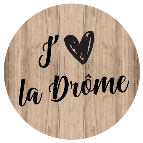 Image du produit Bouchon Vinolok cristal - Bois/J aime la Drôme