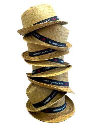 Image du produit Chapeau Ernest paille naturel bandeau décoré - Vacances, j'oublie tout