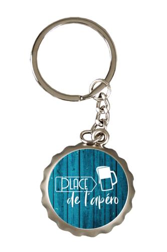 Image du produit Porte-clé décapsuleur Ivo métal- Place de l'Apéro