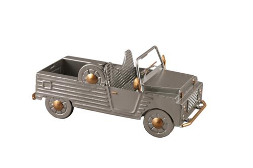 Image du produit Support bouteille Félix métal gris/cuivre - Méhari