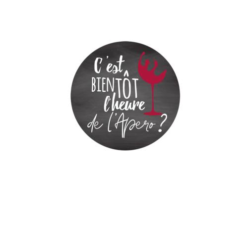 Image du produit Bouchon Vinolok cristal - C'est bientôt l'heure de l'apéro
