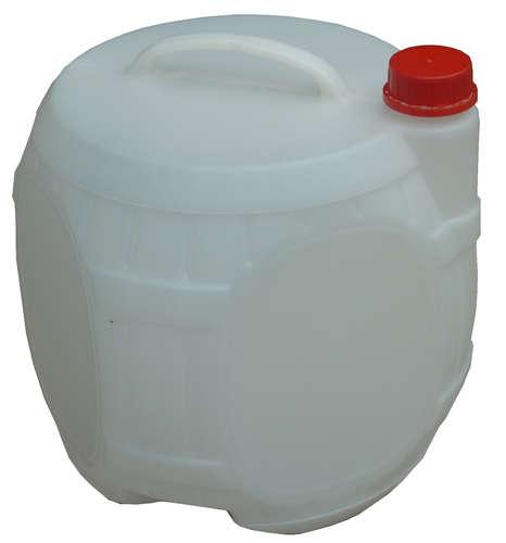 Image du produit Tonnelet plastique 10l blanc avec bouchon