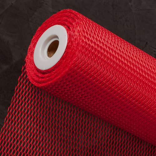 Image du produit Fibre Mazzo synthétique rouge 0.60x25m