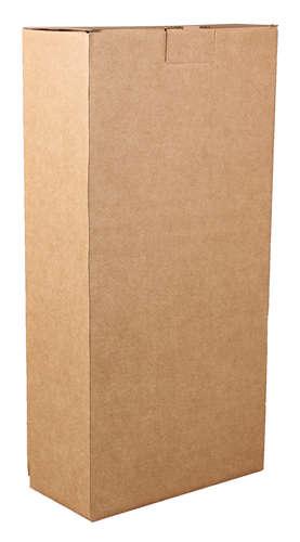 Image du produit Etui Atlanta carton kraft lisse 2 bouteilles