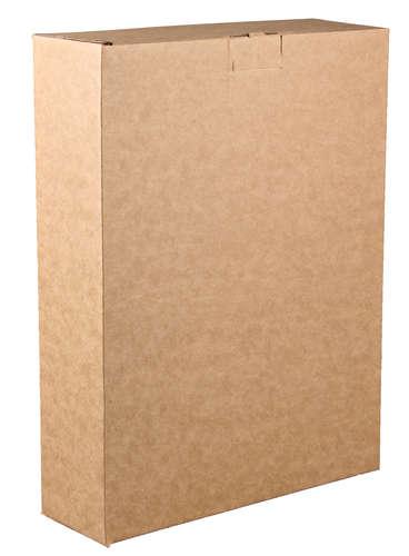 Image du produit Etui Atlanta carton kraft lisse 3 bouteilles