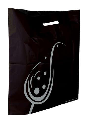 Image du produit Sac Impulsion plastique noir/argent cabas 45x6x50cm
