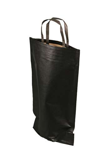 Image du produit Sac Espérance papier kraft noir 1 bouteille