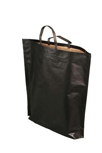 Image du produit Sac Espérance papier kraft noir 3 bouteilles
