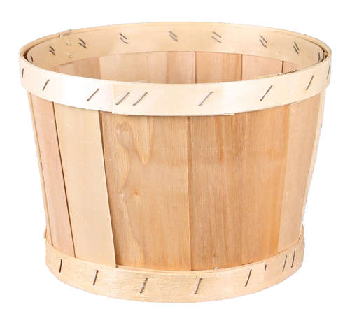 Image du produit Bourriche Malo bois de peuplier ronde diam 22x14cm
