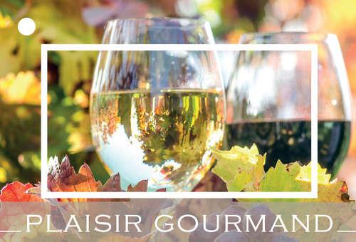 Image du produit Carte de voeux Brillant - Plaisir Gourmand