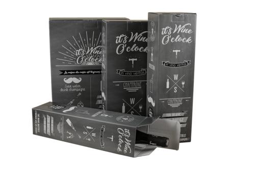 Image du produit Etui Manhattan carton ardoise Magnum