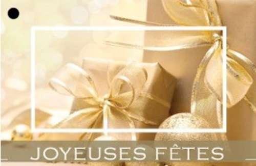 Image du produit Carte de voeux Brillant - Joyeuses fêtes