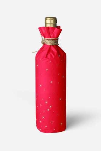 Image du produit Papier cadeau Nuit kraft couché rouge/or/argent 73gr 0.70x100m