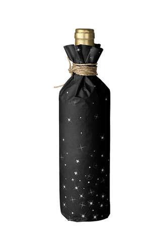 Image du produit Papier cadeau Nuit kraft couché noir/or/blanc 73gr 0,70x100m