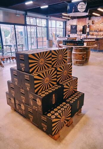 Image du produit Calendrier de l'avent San Diego carton renforcé décoré 24 bières 25-50cl