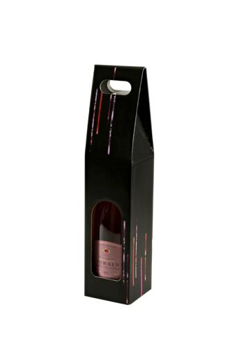 Image du produit Valisette Los Angeles carton noir 1 bouteille