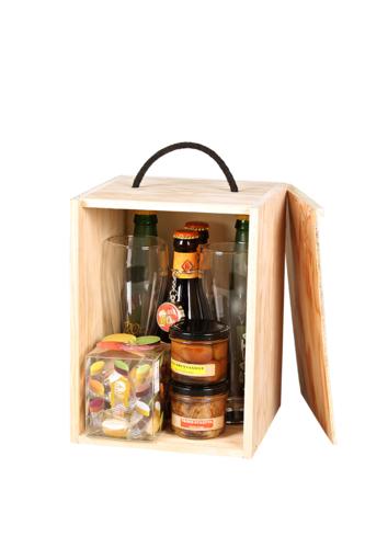 Image du produit Coffret Dao bois de pin 9 bières (type long neck) - J'suis toujours sous...