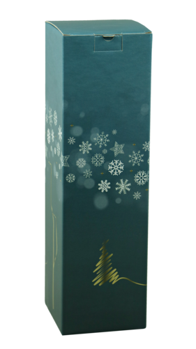 Image du produit Etui Alaska carton bleu/or/argent/blanc magnum