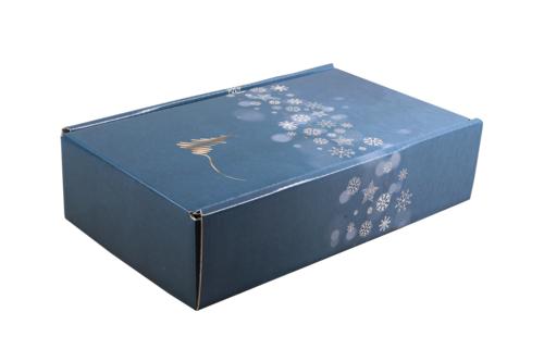 Image du produit Coffret Alaska carton bleu/or/argent/blanc 2 bouteilles