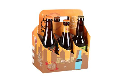 Image du produit Valisette panier San Francisco carton Urban 6 bières 33cl