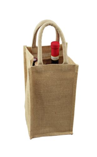Image du produit Sac Goa toile de jute 4 bouteilles
