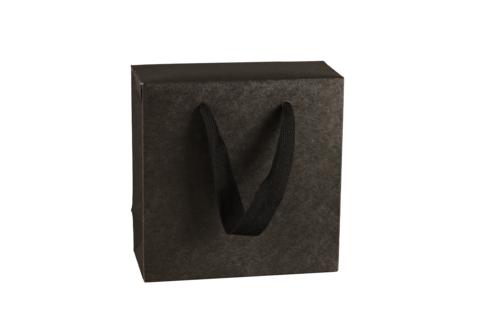 Image du produit Sac boite Chicago kraft noir mat Terroir -  FSC7