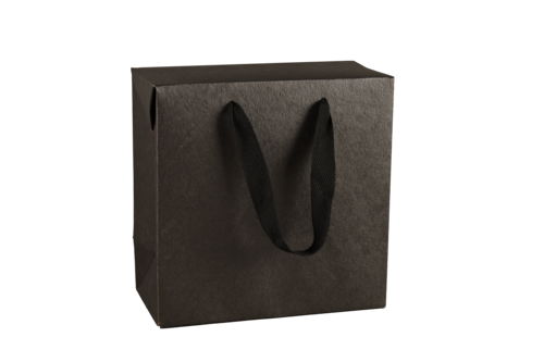 Image du produit Sac boite Chicago kraft noir mat Terroir- FSC 7