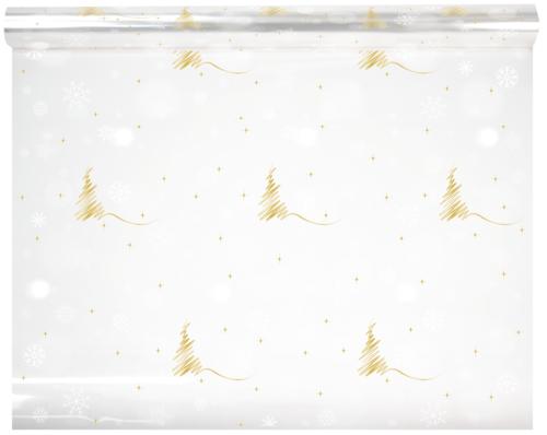 Image du produit Film polypro Alaska blanc/or 40µ 0.80x120m