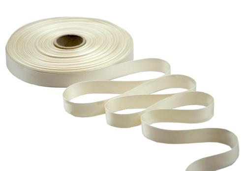Image du produit Ruban satin premium ivoire 17mmx50m (spéciale imprimante)