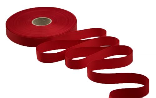 Image du produit Ruban satin premium rouge 17mmx50m (spéciale imprimante)