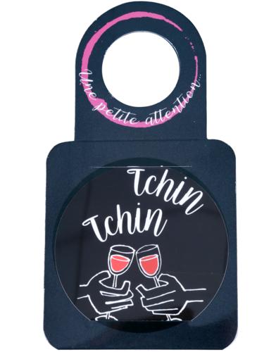 Image du produit Carte message/goulot Victoria disque anti-goutte - Tchin-Tchin